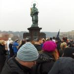 Statua Sv.Jana Nepomuka -Karlov most, Prag