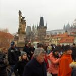 Karlov most - vrvi od turista