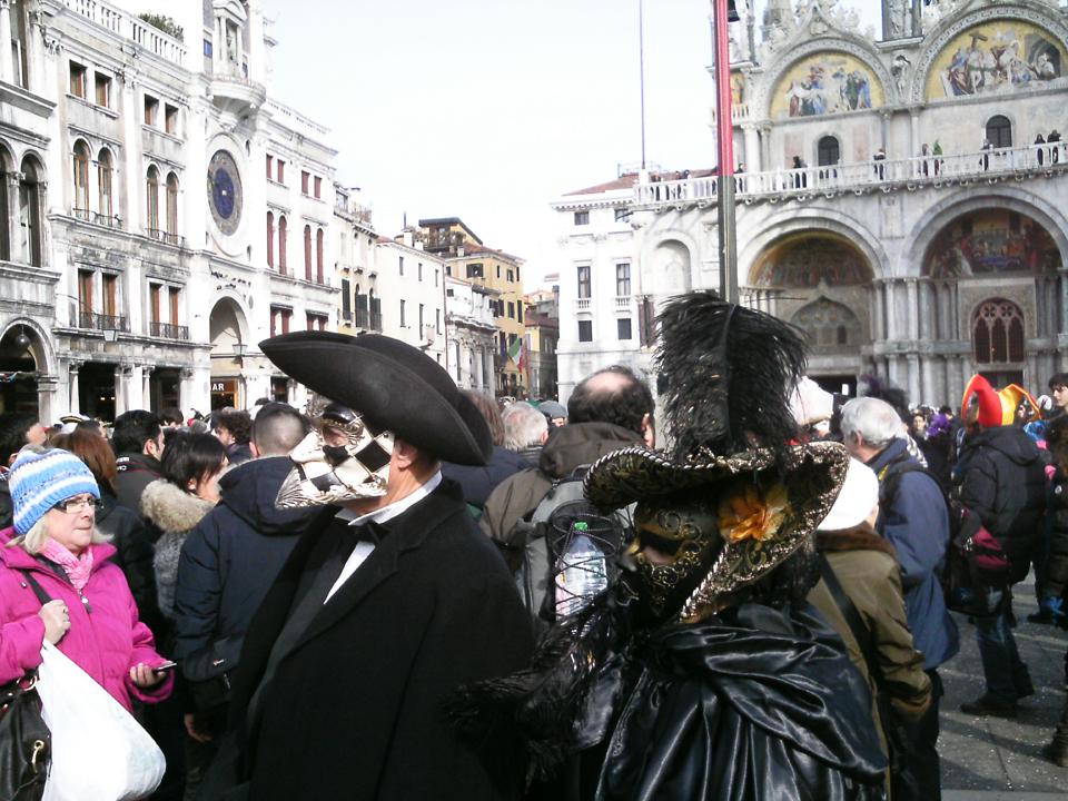 Razne maske - karneval u Veneciji