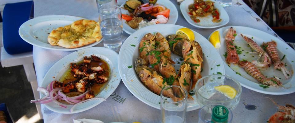 Tradicionalna kuhinja na Lefkadi - riblji specijaliteti