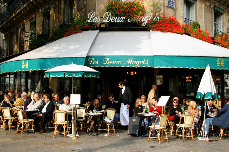 Restoran u Parizu - Les Deux Magots