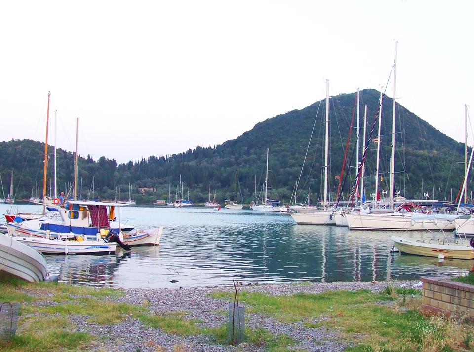 Onazisovo ostrvo - pogled iz Nidrija