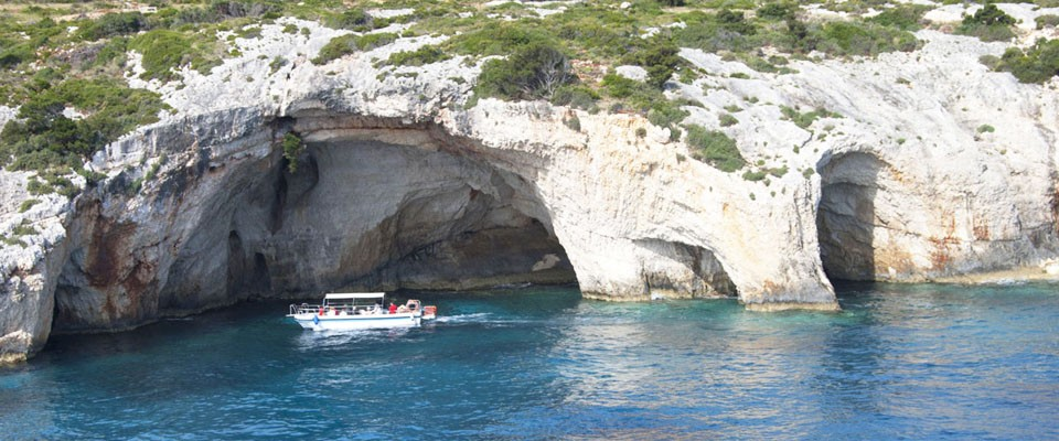 Plave pećine - Zakintos