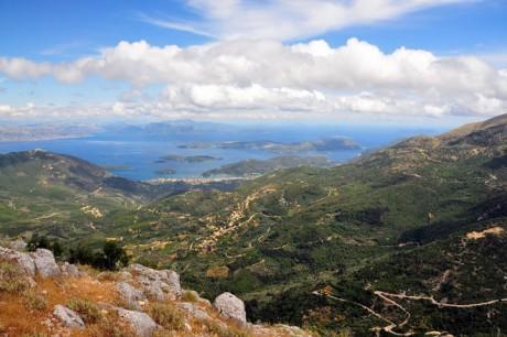 Pogled sa brda gde se nalazi crkva Sveti Prorok Ilija