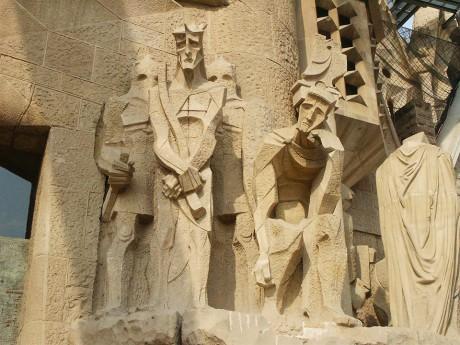 Sagrada Familia Barselona - sa desne strane Pontije Pilat