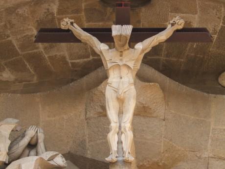 Sagrada Familia Barselona - stradanje Hristovo