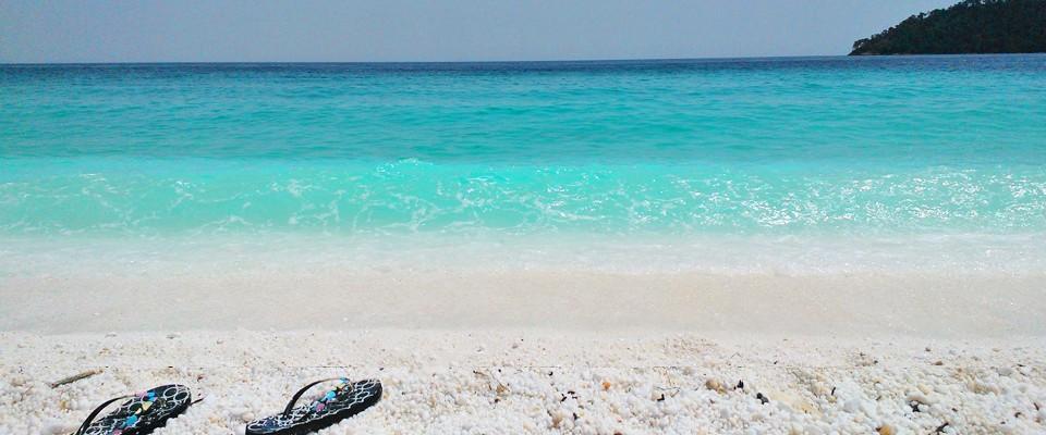 Saliara, Mermerna plaža, ostrvo Tasos