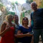 Vodopadi Dimosari u Nidriju, Lefkada - veselo društvo:)
