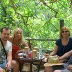 Kafić u blizini vodopada Dimosari