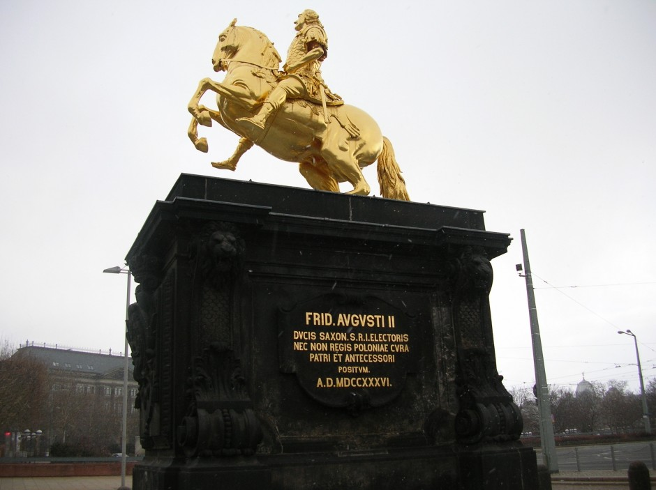 Statua konjanika Fridriha Avgusta II znanog kao Avgust Jaki