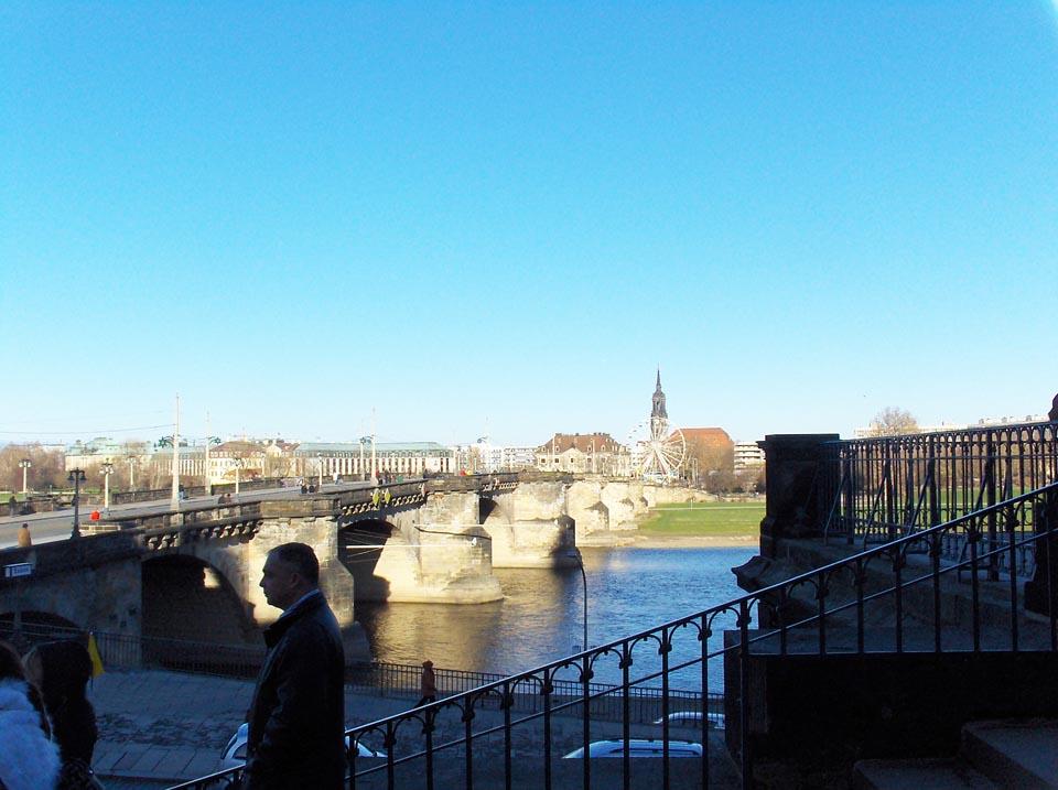 Reka Elba (Elbe), Drezden