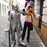 """Statua """"Lepi Naci"""", Bratislava"""