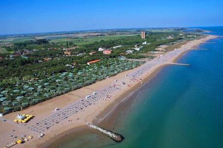 Lido di Jesolo, Italija, plaža