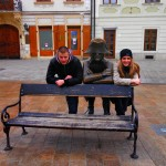 """Statua """"Napoleonov vojnik"""", Bratislava"""
