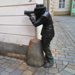 "Statua ""Paparazzi"", Brartislava"