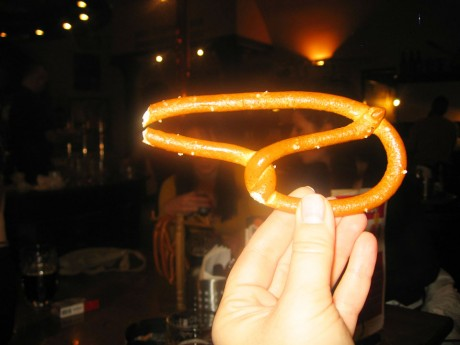 Praška pereca - pretzel