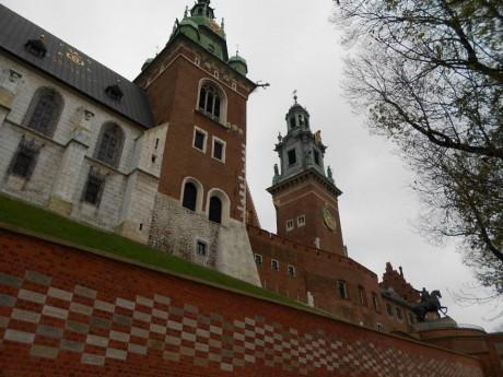 Zidine dvorca Wawel