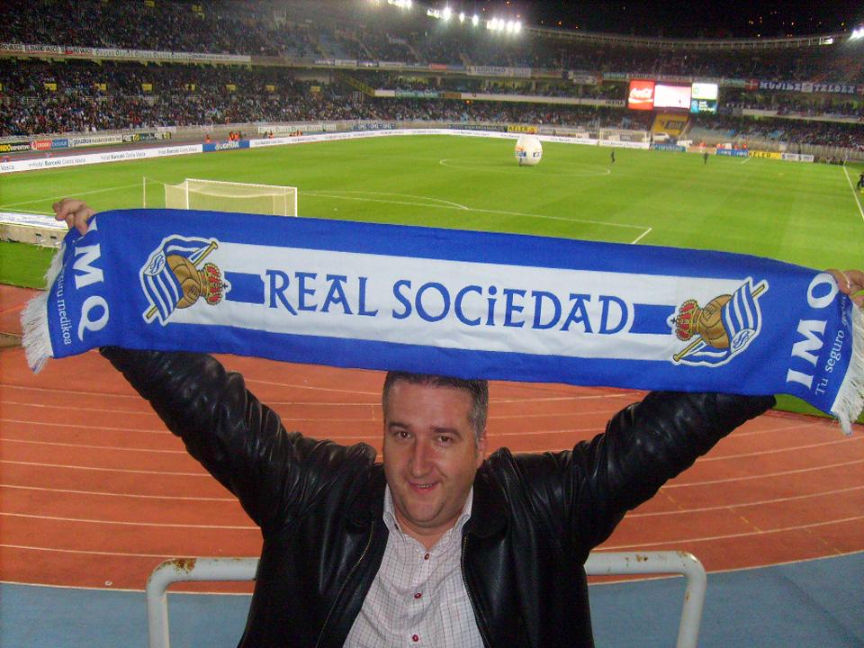 Na stadionu Real Sociedad