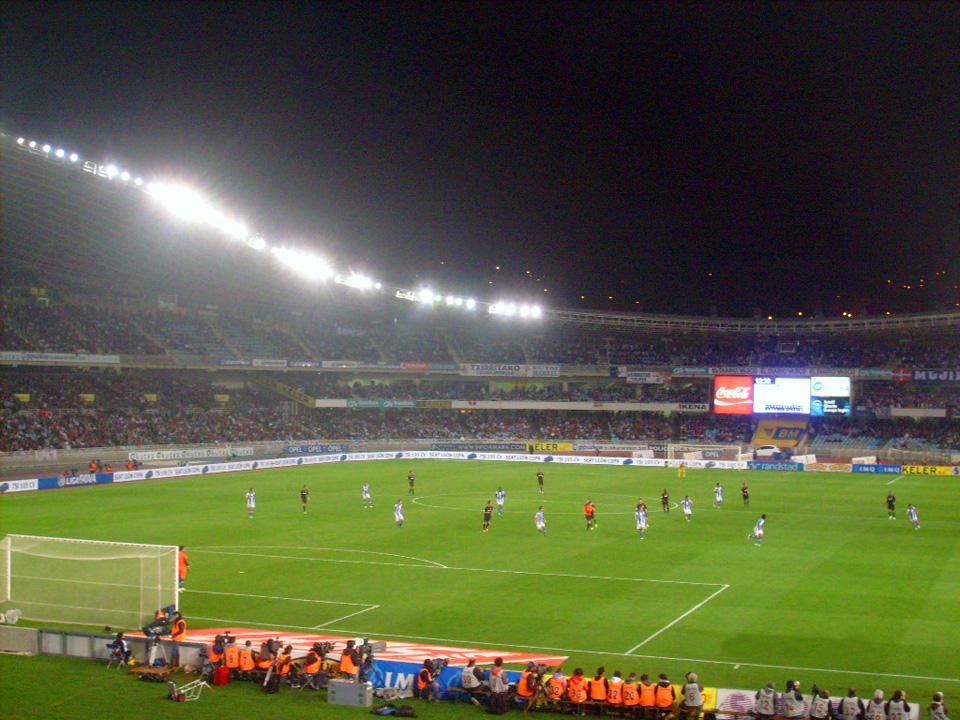Utakmica Real Sociedad i Real Mardid