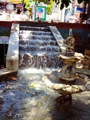 Prlepa fontana u centru
